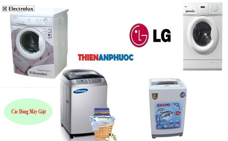 Các dòng máy giặt cần sửa chữa, bảo trì tại TPHCM