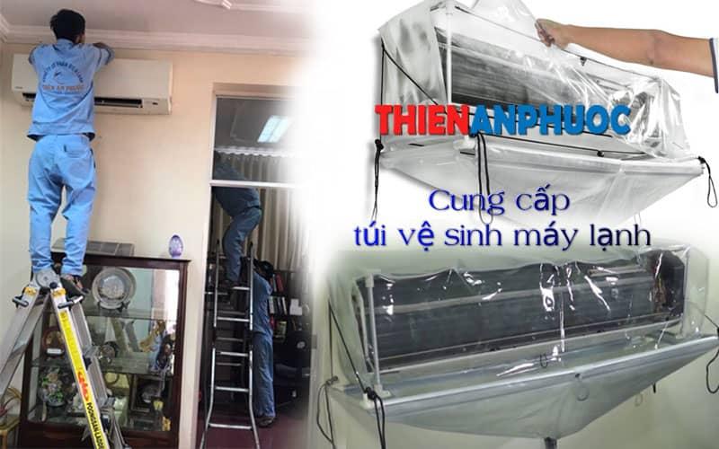 Cung cấp áo vệ sinh máy lạnh giá rẻ tại TPHCM