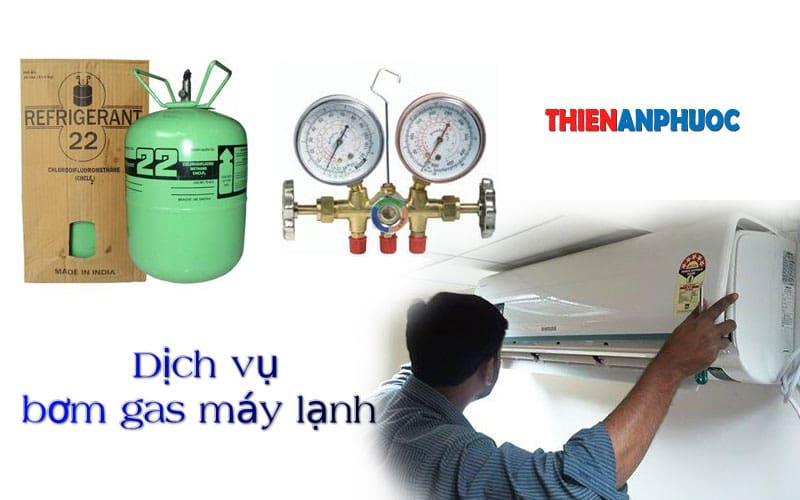 Dịch vụ bơm gas máy lạnh giá rẻ | Bao lâu thì nạp gas máy lạnh một lần
