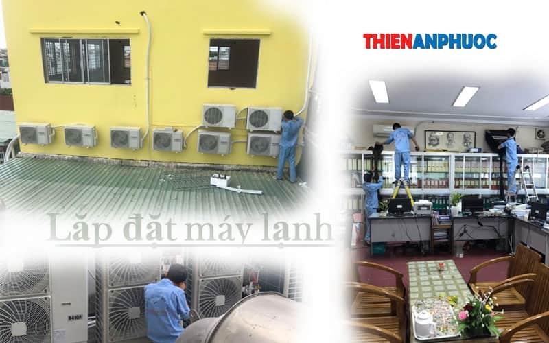 Tháo lắp máy lạnh uy tín tại TPHCM