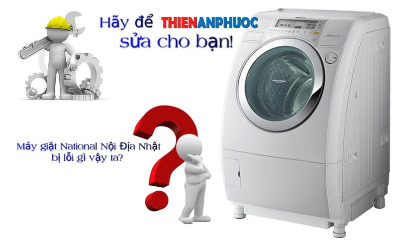 Mã lỗi máy giặt National Nội Địa Nhật