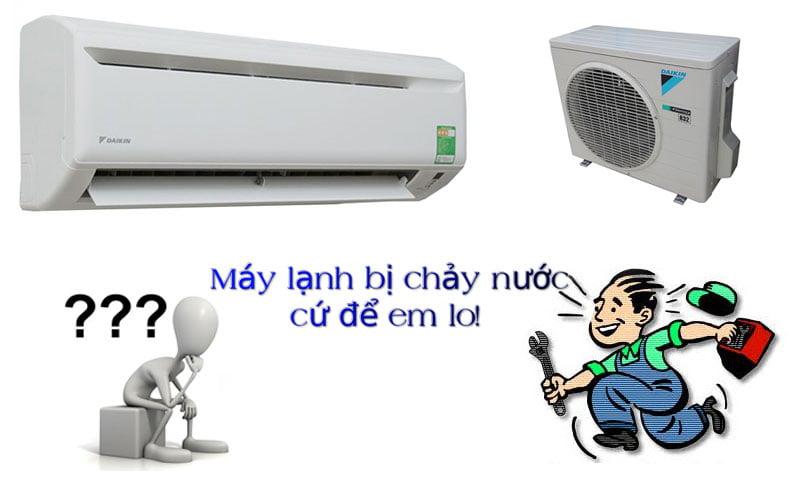 Nguyên nhân và giải pháp khắc phục máy lạnh bị chảy nước hiệu quả