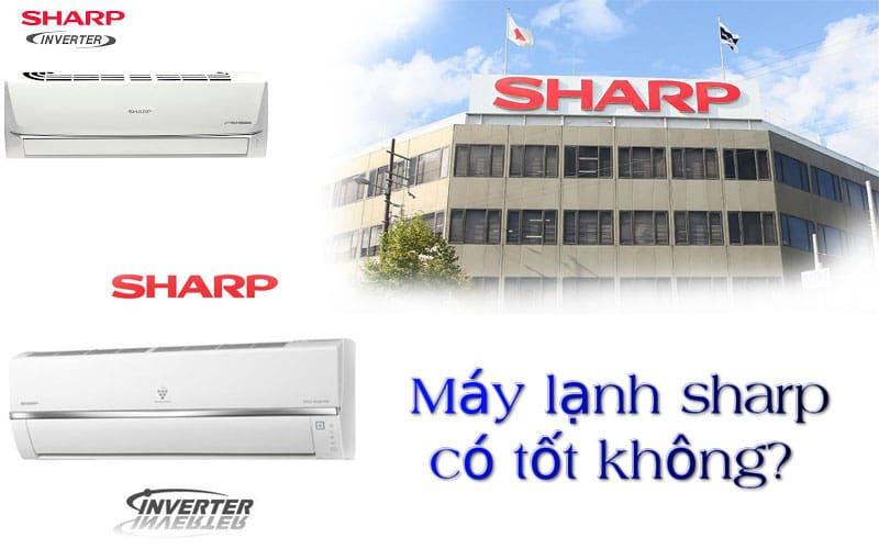 Máy lạnh Sharp có tốt không? Tư vấn mua máy lạnh giá rẻ tại TPHCM