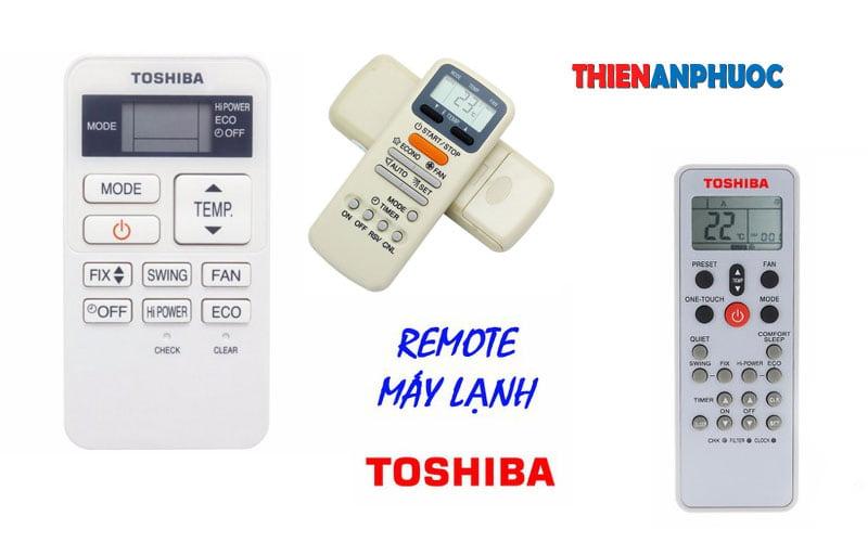 Remote máy lạnh Toshiba – Hướng dẫn chỉnh máy lạnh bằng remote