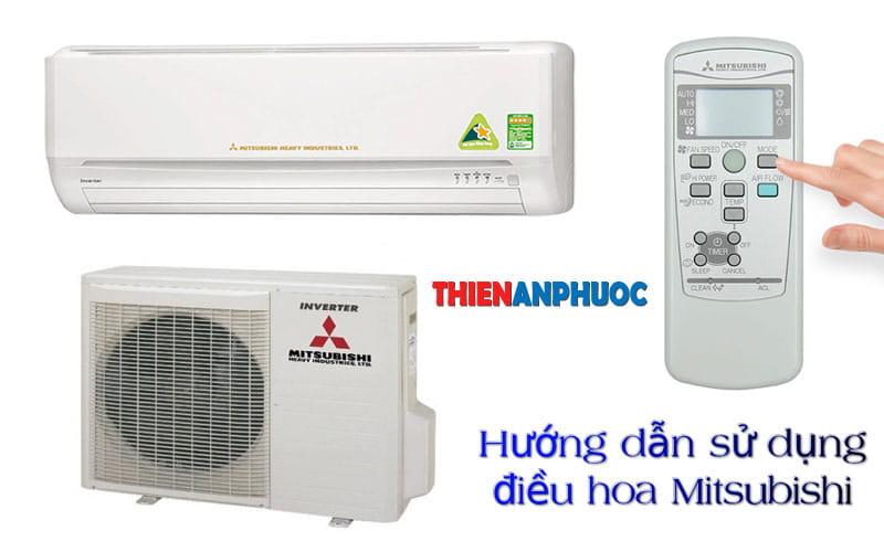 Máy lạnh Mitsubishi – Hướng dẫn sử dụng điều hòa Mitsubishi