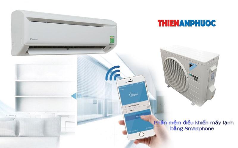 Ứng dụng máy lạnh – Phần mềm điều khiển điều hòa bằng Smartphone