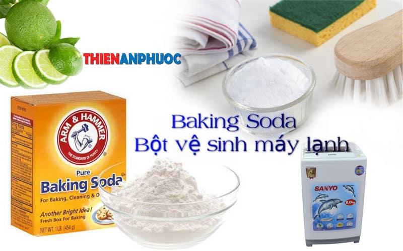 Hướng dẫn vệ sinh máy giặt bằng Baking Soda đạt hiệu quả cao nhất