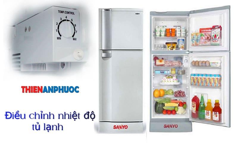 Hướng dẫn cách điều chỉnh nhiệt độ tủ lạnh tiết kiệm điện hiệu quả