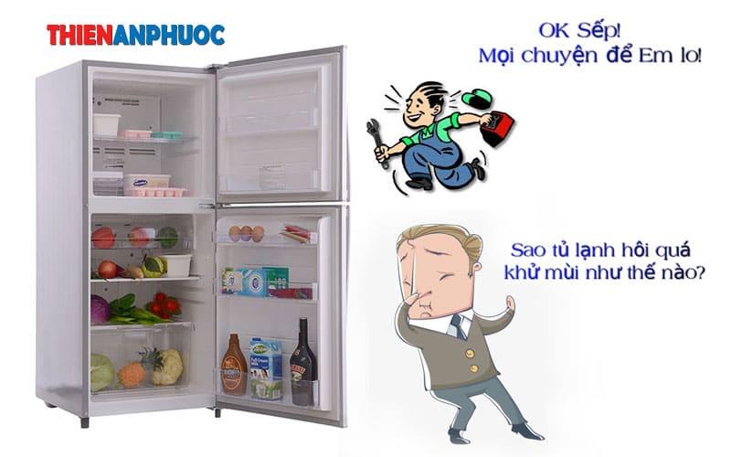 Cách khử mùi hôi tủ lạnh lâu ngày không dùng giúp chị em nội trợ