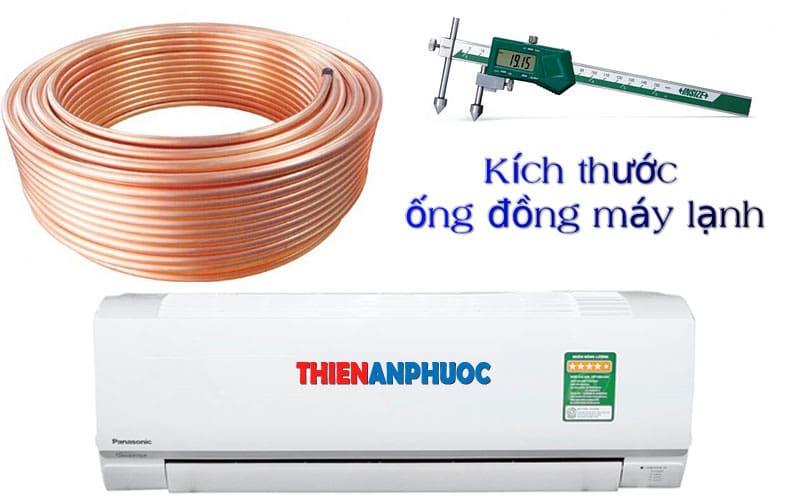 Cách chọn kích thước ống đồng máy lạnh đúng tiêu chuẩn