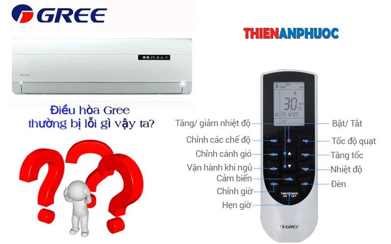 Bảng mã lỗi điều hòa Gree | Tổng hợp sự cố thường gặp của máy lạnh