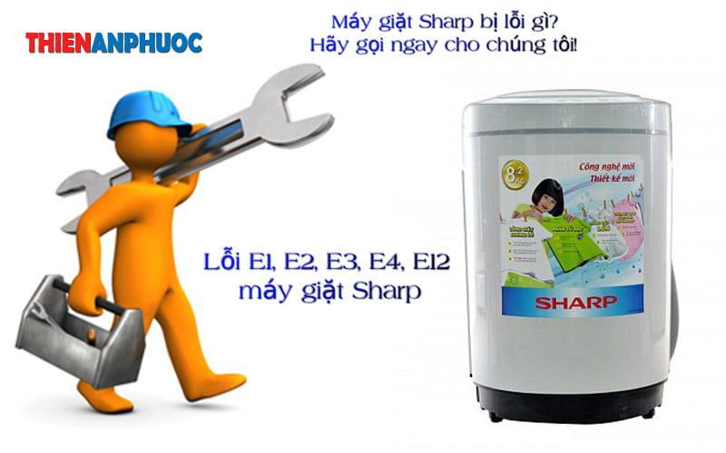Bảng mã lỗi máy giặt Sharp thường gặp nhất – Điện Lạnh An Phước