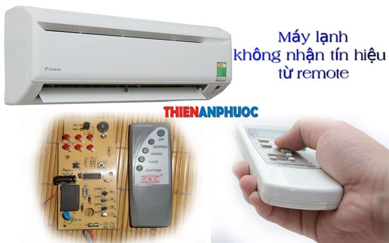 Nguyên nhân máy lạnh không nhận tín hiệu từ remote