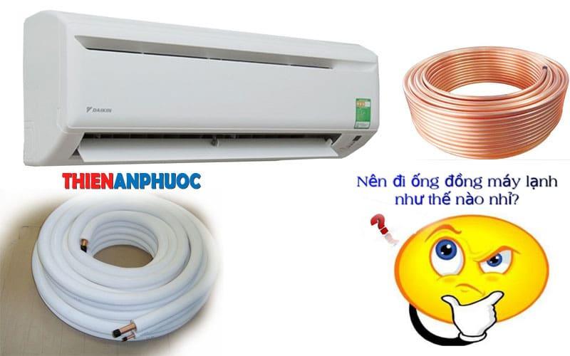 Những nguyên nhân khiến ống đồng máy lạnh bị rỉ nước