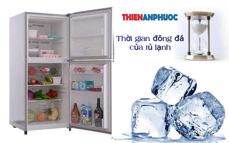 Thời gian đông đá của tủ lạnh là bao lâu? Khi nào tủ lạnh đông đá?