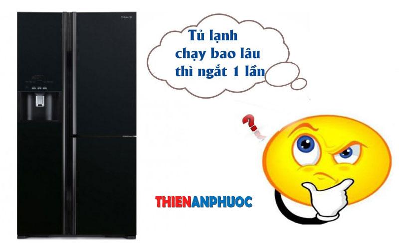 Tủ lạnh chạy bao lâu thì tự ngắt 1 lần | Nguyên lý hoạt động của tủ lạnh