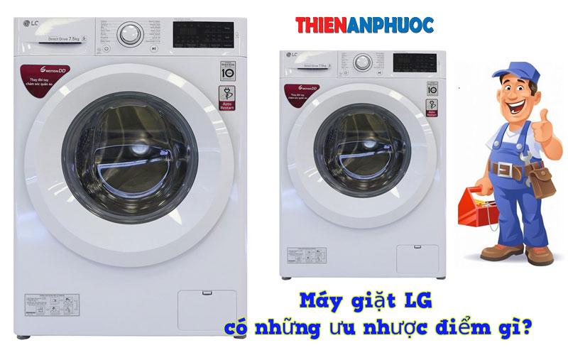 Ưu nhược điểm của hãng máy giặt LG thương hiệu Hàn Quốc