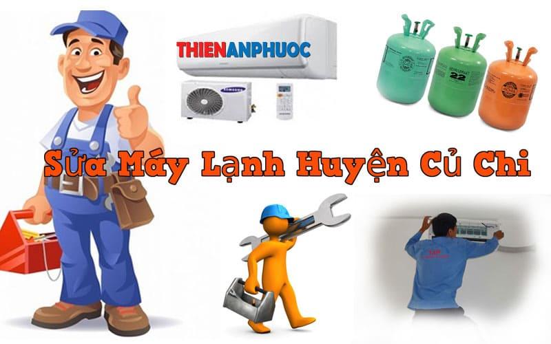 Dịch vụ sửa máy lạnh huyện Củ chi uy tín chất lượng tại TPHCM