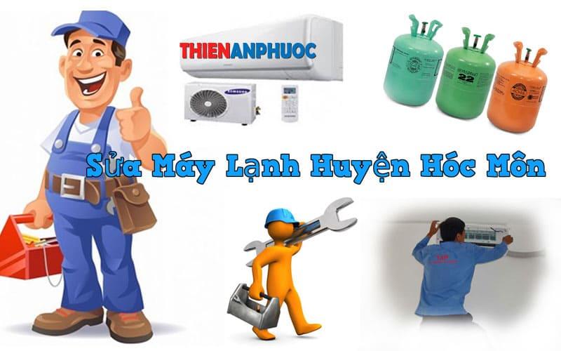 Dịch vụ sửa máy lạnh huyện Hóc môn giá rẻ tại TPHCM