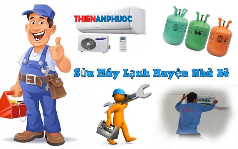 Dịch vụ sửa máy lạnh huyện Nhà bè uy tín chất lượng tại TPHCM
