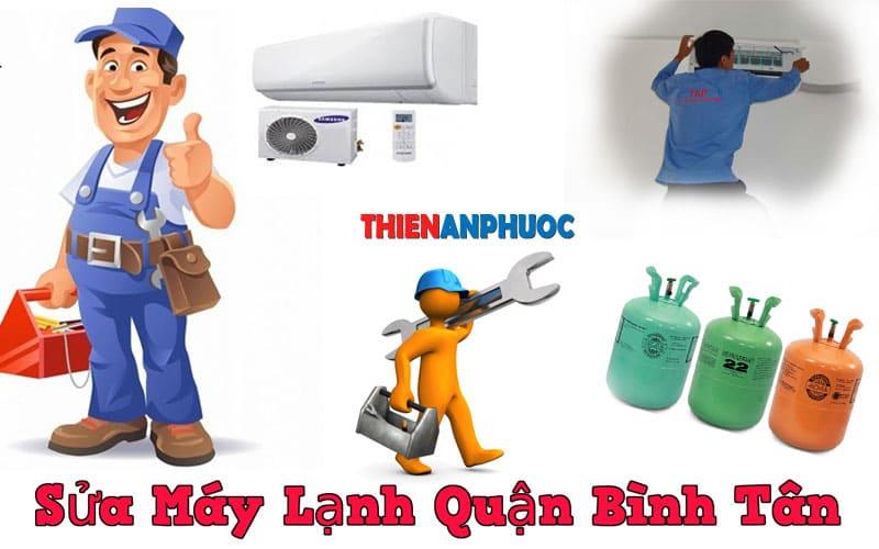 Dịch vụ sửa máy lạnh quận Bình tân uy tín chất lượng tại TPHCM