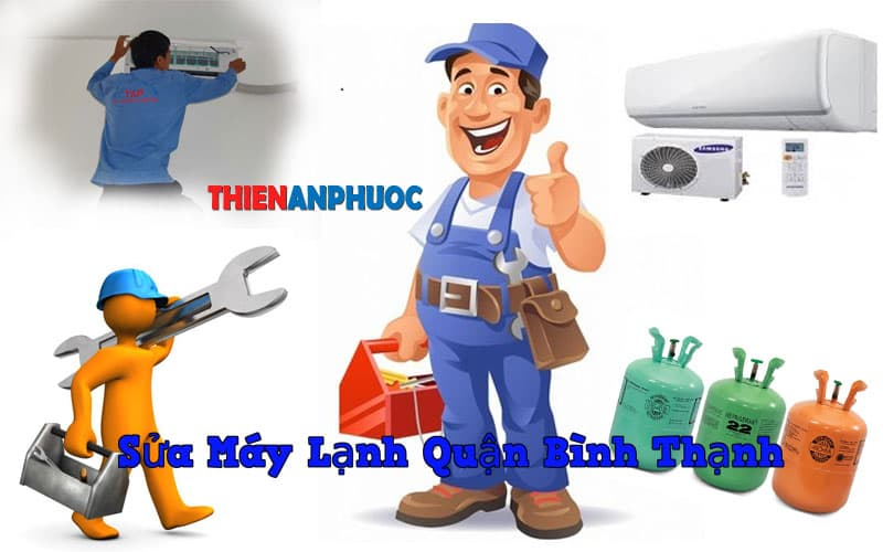 Dịch vụ sửa máy lạnh quận Bình Thạnh chất lượng hàng đầu TPHCM