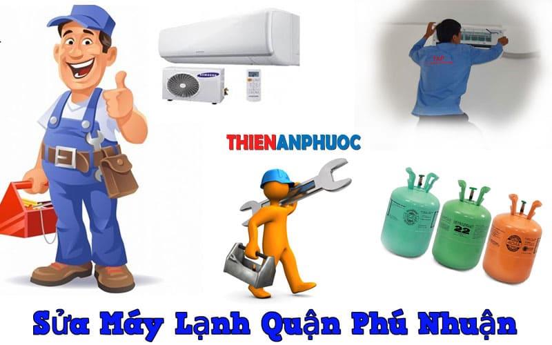 Dịch vụ sửa máy lạnh quận Phú nhuận chất lượng tại TPHCM