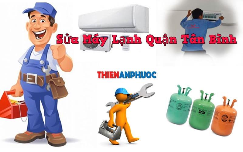 Dịch vụ sửa máy lạnh quận Tân bình chất lượng nhất TPHCM