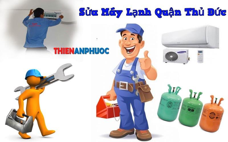 Dịch vụ sửa máy lạnh quận Thủ Đức chất lượng tại TPHCM