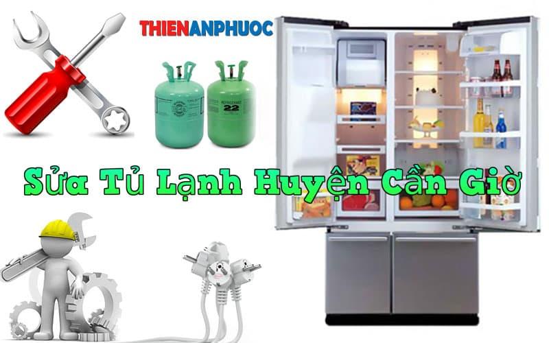 Dịch vụ sửa tủ lạnh huyện Cần Giờ giá rẻ tại TPHCM