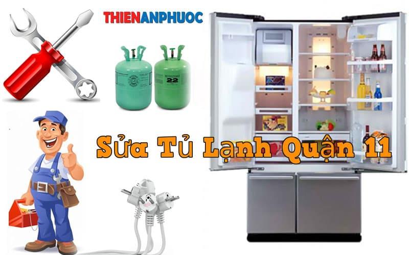 Dịch vụ sửa tủ lạnh Quận 11 giá rẻ chất lượng tại TPHCM