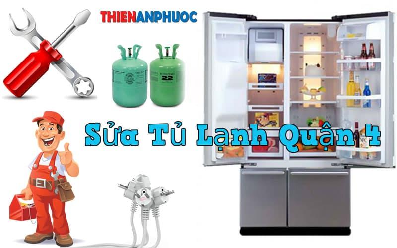 Dịch vụ sửa tủ lạnh Quận 4 giá rẻ uy tín chất lượng TPHCM