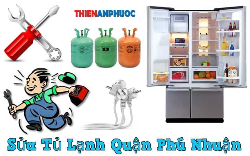 Dịch vụ sửa tủ lạnh quận Phú Nhuận giá rẻ tại TPHCM