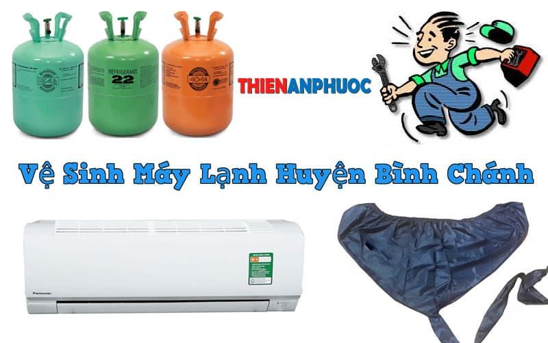 Dịch vụ vệ sinh máy lạnh huyện Bình Chánh chất lượng tại TPHCM