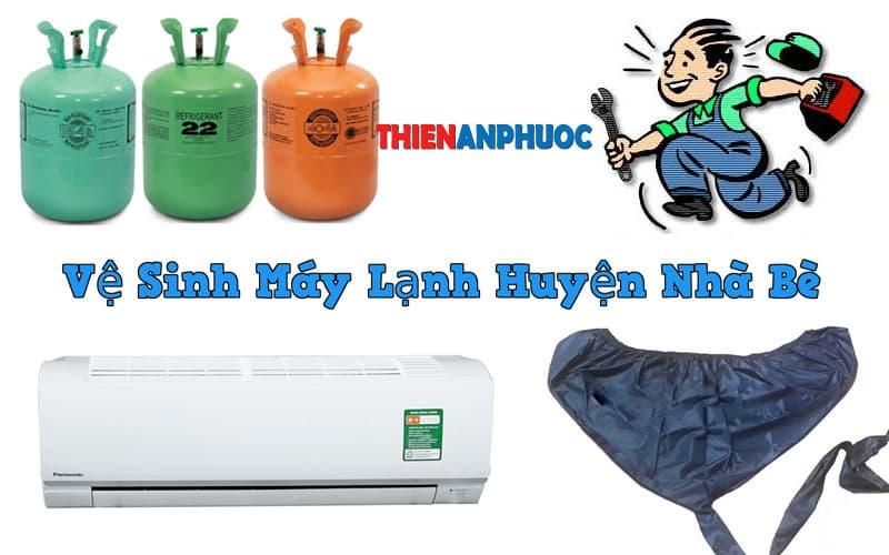 Dịch vụ vệ sinh máy lạnh huyện Nhà Bè chất lượng tại TPHCM