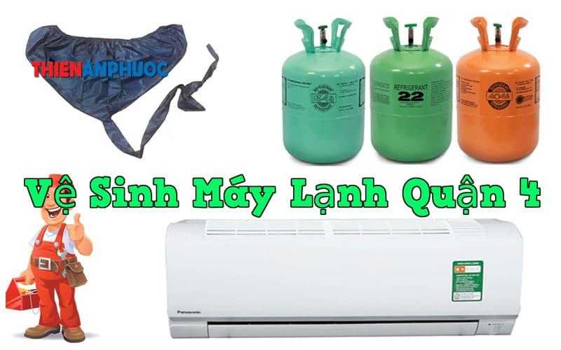 Dịch vụ vệ sinh máy lạnh quận 4 chất lượng tại TPHCM