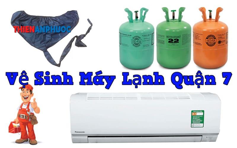 Dịch vụ vệ sinh máy lạnh quận 7 giá rẻ tại TPHCM