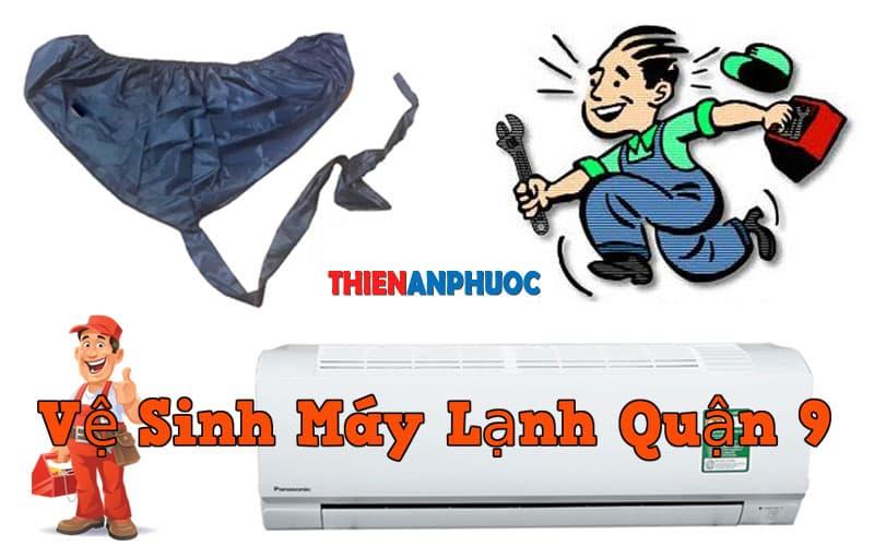 Dịch vụ vệ sinh máy lạnh quận 9 chất lượng hàng đầu tại TPHCM