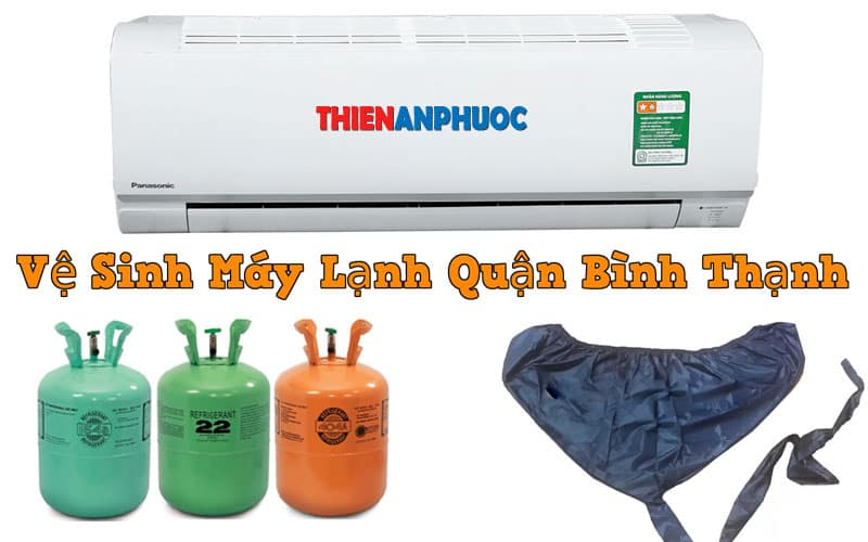 Dịch vụ vệ sinh máy lạnh quận Bình Thạnh chất lượng tại TPHCM