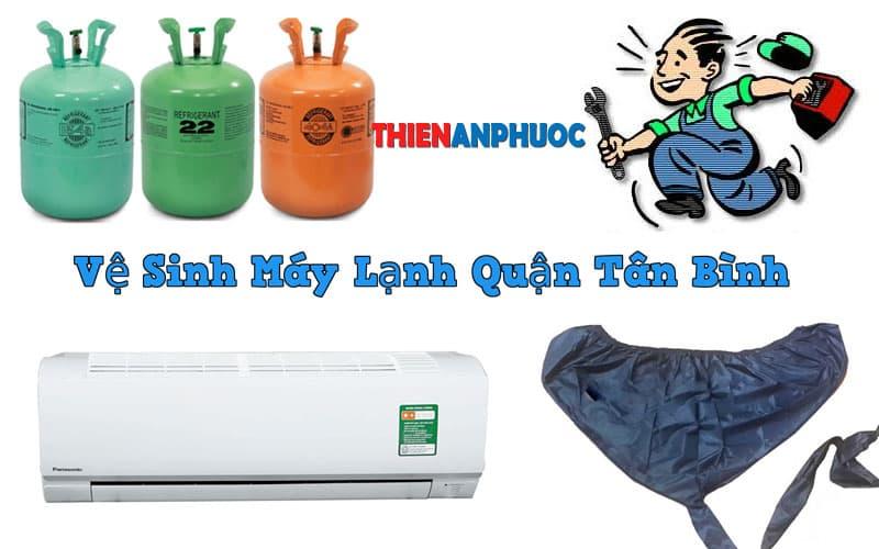Dịch vụ vệ sinh máy lạnh quận Tân Bình uy tín hàng đầu TPHCM