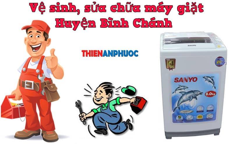 Dịch vụ vệ sinh, sửa chữa máy giặt huyện Bình Chánh TPHCM