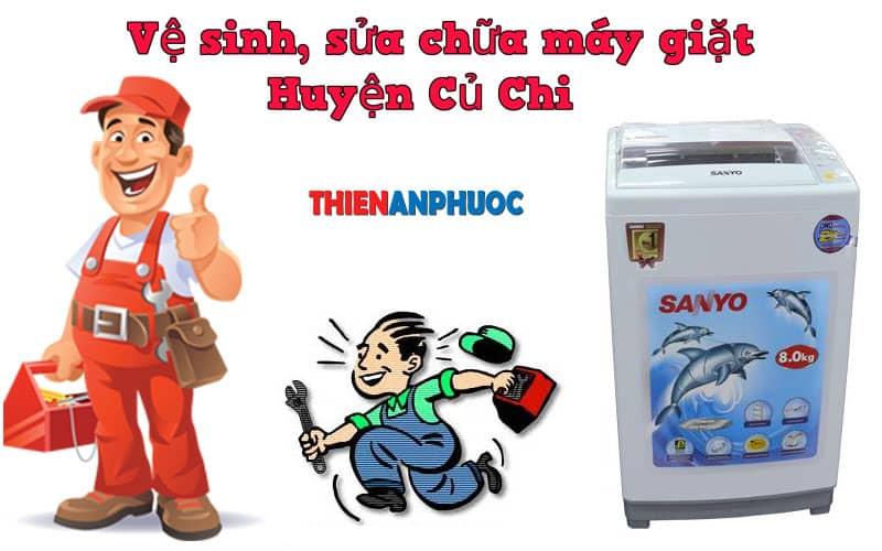 Dịch vụ vệ sinh, sửa chữa máy giặt huyện Củ Chi TPHCM