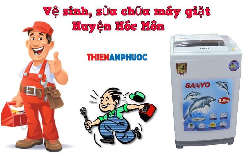 Dịch vụ vệ sinh, sửa chữa máy giặt huyện Hóc Môn TPHCM