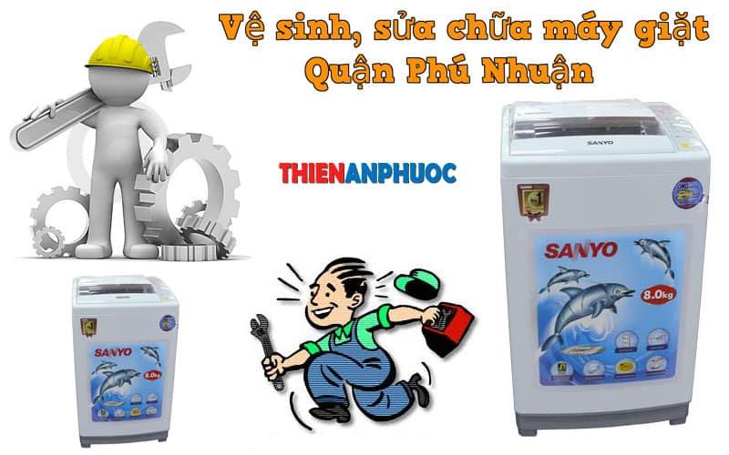 Dịch vụ vệ sinh, sửa chữa máy giặt quận Phú Nhuận TPHCM