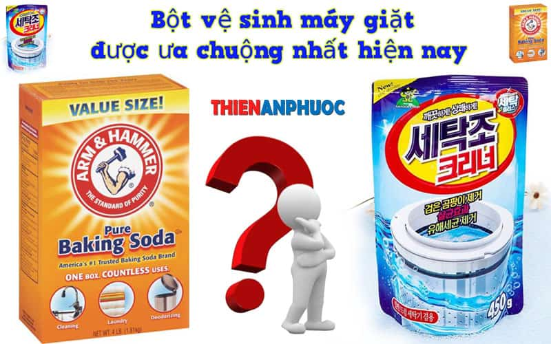 Bột vệ sinh máy giặt được ưa chuộng nhất hiện nay | Thiên An Phước