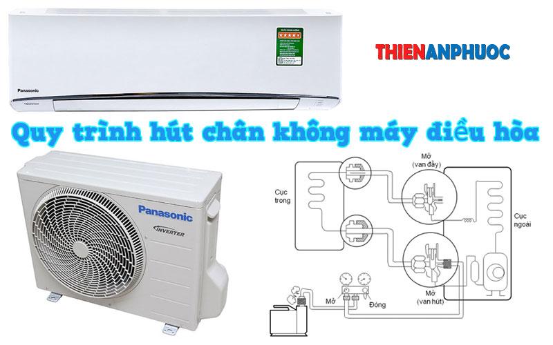 Tại sao phải hút chân không điều hòa trong quá trình lắp đặt máy lạnh