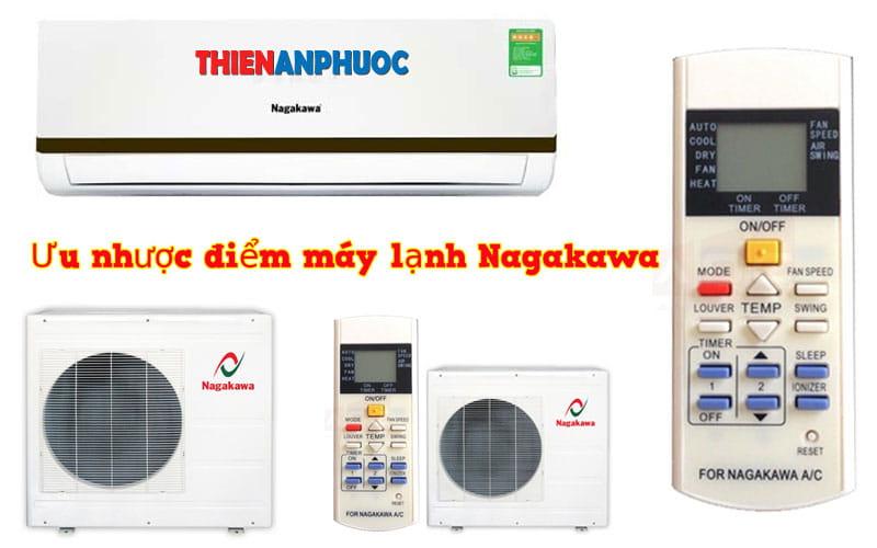 Ưu nhược điểm của máy điều hòa Nagakawa 9000 btu 1 chiều