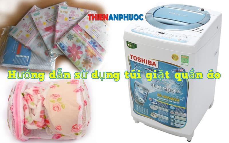 Hướng dẫn sử dụng túi giặt quần áo trong máy giặt hiệu quả