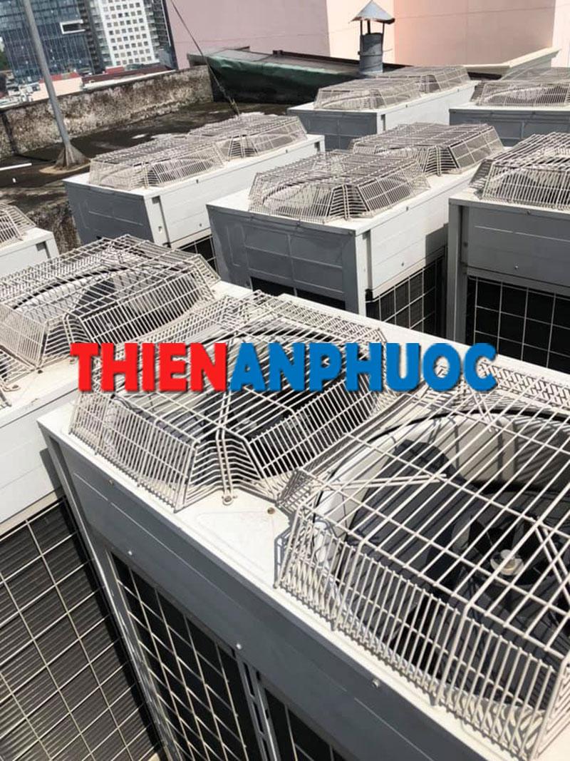 Hình ảnh 1: Thi công công trình máy lạnh tại Công Ty BĐS An Gia